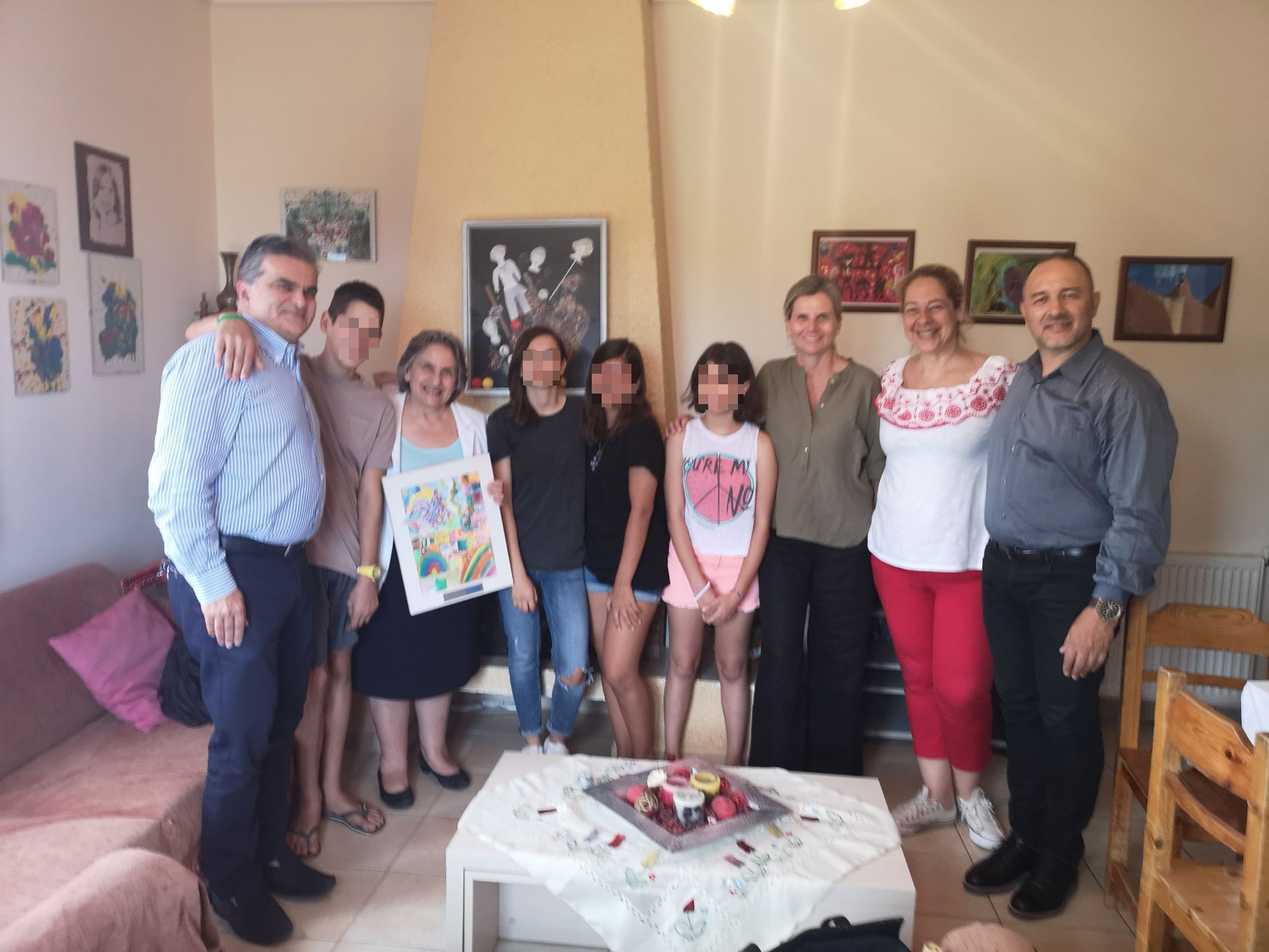 Η κα Ξένη Δημητρίου, τ. Εισαγγελέας του Αρείου Πάγου, μας επισκέφθηκε στο Παιδικό Χωριό SOS Βάρης