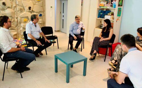 Επίσκεψη στον Ξενώνα Βρεφών SOS