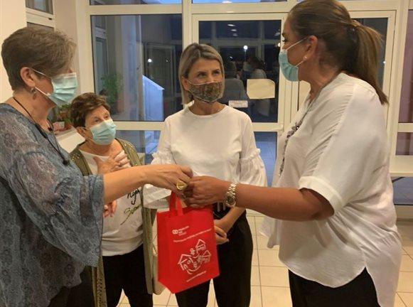 Επίσκεψη της Ντόρας Μπακογιάννη στο Παιδικό Χωριό SOS Θράκης