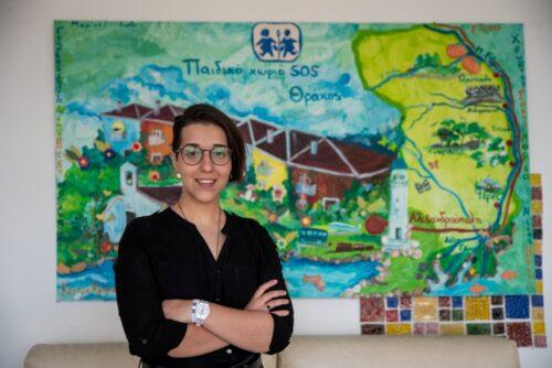 """""""Οι άνθρωποί μας, η ψυχή μας"""": Κορίνα Γκουτσίδου, Υπεύθυνη Κέντρου Ημέρας για ΑμεΑ στο Παιδικό Χωριό SOS Θράκης"""
