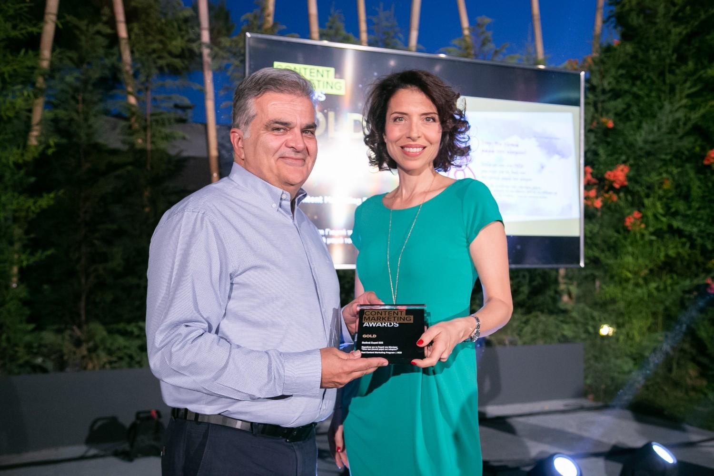Gold βραβείο για τα Παιδικά Χωριά SOS στα Content Marketing Awards